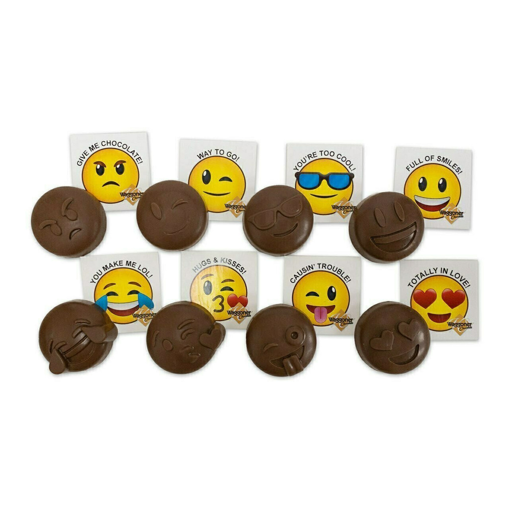 96 CT. PEANUT BUTTER EMOJI'S - Pick Your Favorite