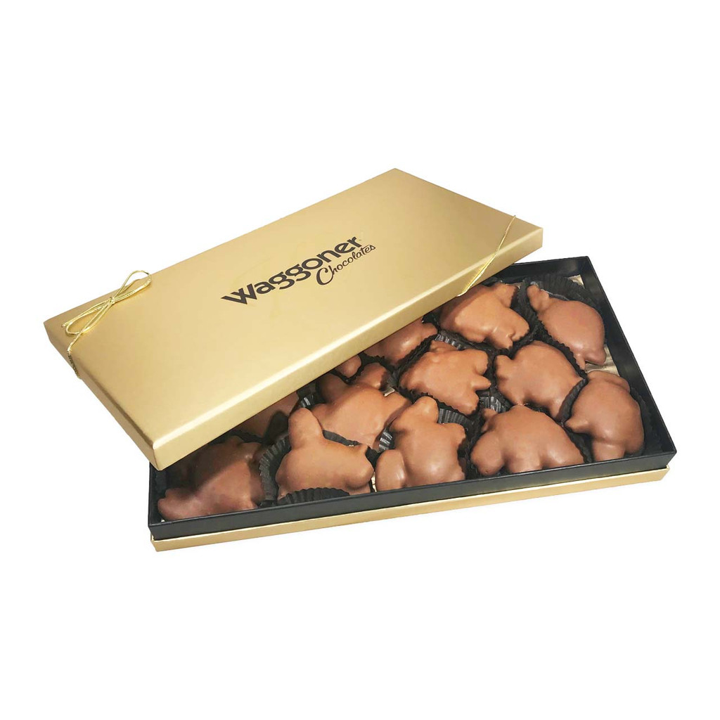 MILK CHOCOLATE DAINTIES - PICK YOUR SIZE AND FLAVOR