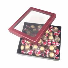 BUCKEYE WINDOW GIFT BOX MILK CHOCOLATE 16 OZ.