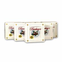 BUCKEYE PETITE WINDOW GIFT BOX MILK CHOCOLATE- SET OF 6