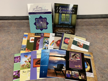Bag of Books, for Bereaved Parents
