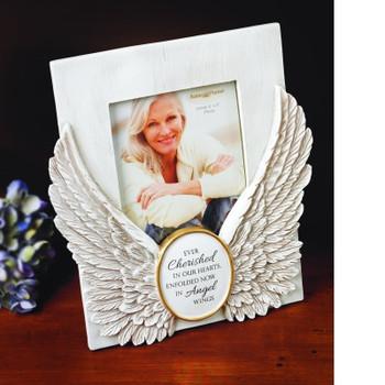 Angel Wings Memorial Frame