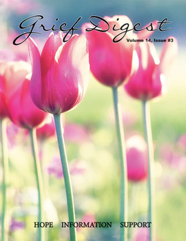 Pink tulips with green background.