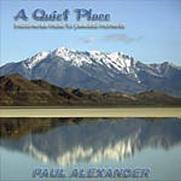 Quiet Place, A:  Instrumental Music for Peace (CD)
