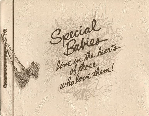 Special Babies: Live in the hearts of those who love them!