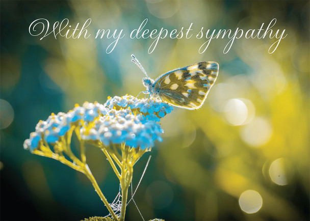 With My Deepest Sympathy card