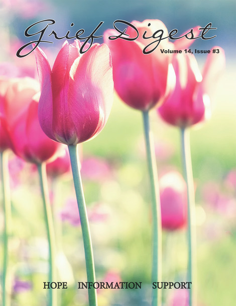 Pink tulips with a green background.