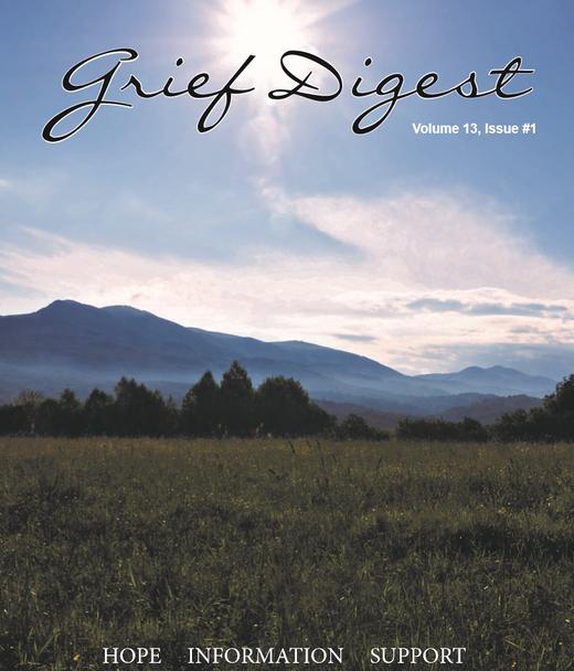 Grief Digest Volume 13, Issue 1