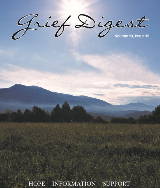 Grief Digest Volume 13, Issue 1 Digital Copy