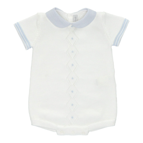 White Knitted Cotton Shortie