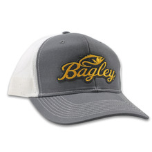 BAGLEY HAT GRAY/WHITE