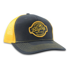 BAGLEY HAT BLACK/GOLD