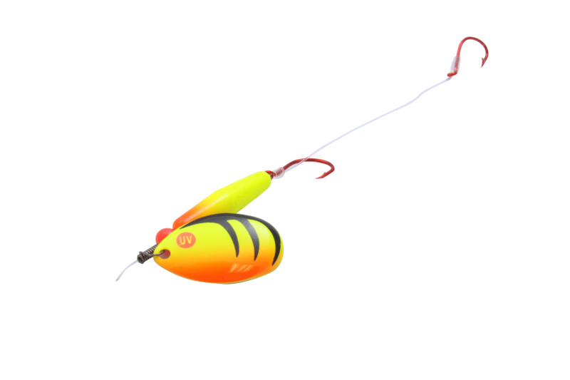Yellow Walleye Red Slow Death Hook Float Floating Spinner Rigs
