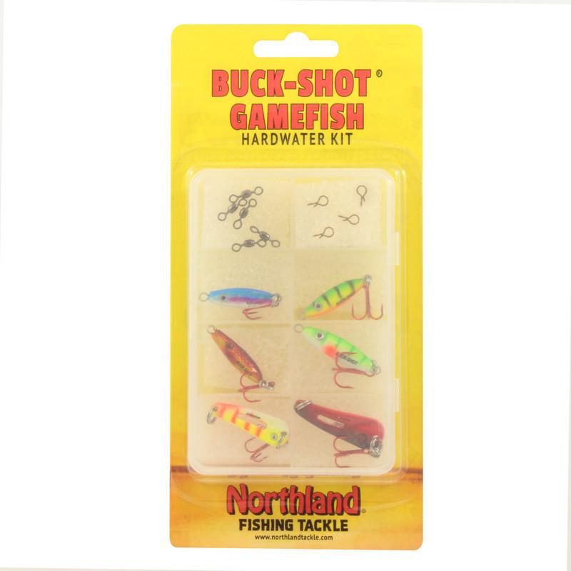 BUCK-SHOT GAMEFISH HARDWATER KIT
