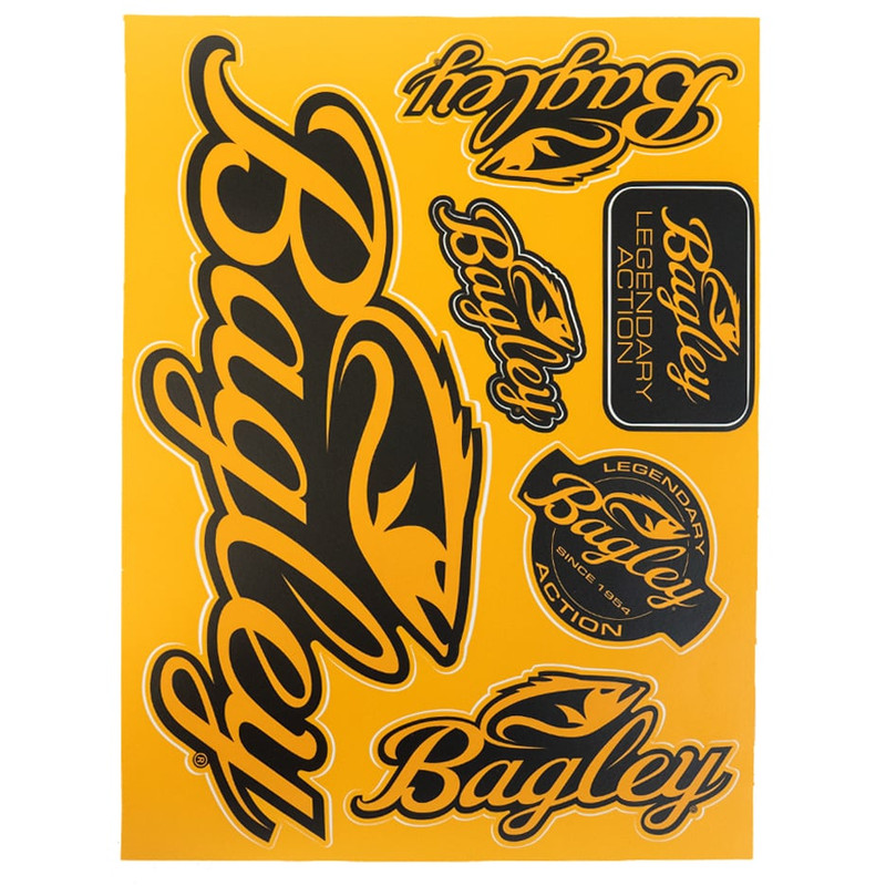 Bagley Decal Sheet