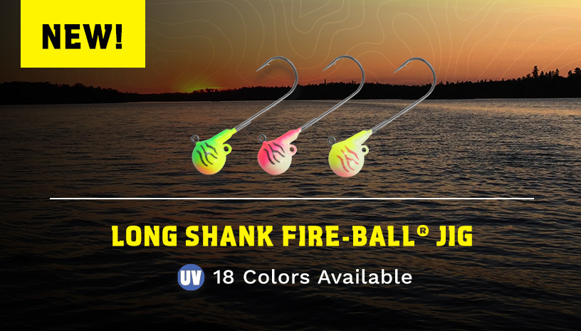 Long Shank Fire-Ball Jig