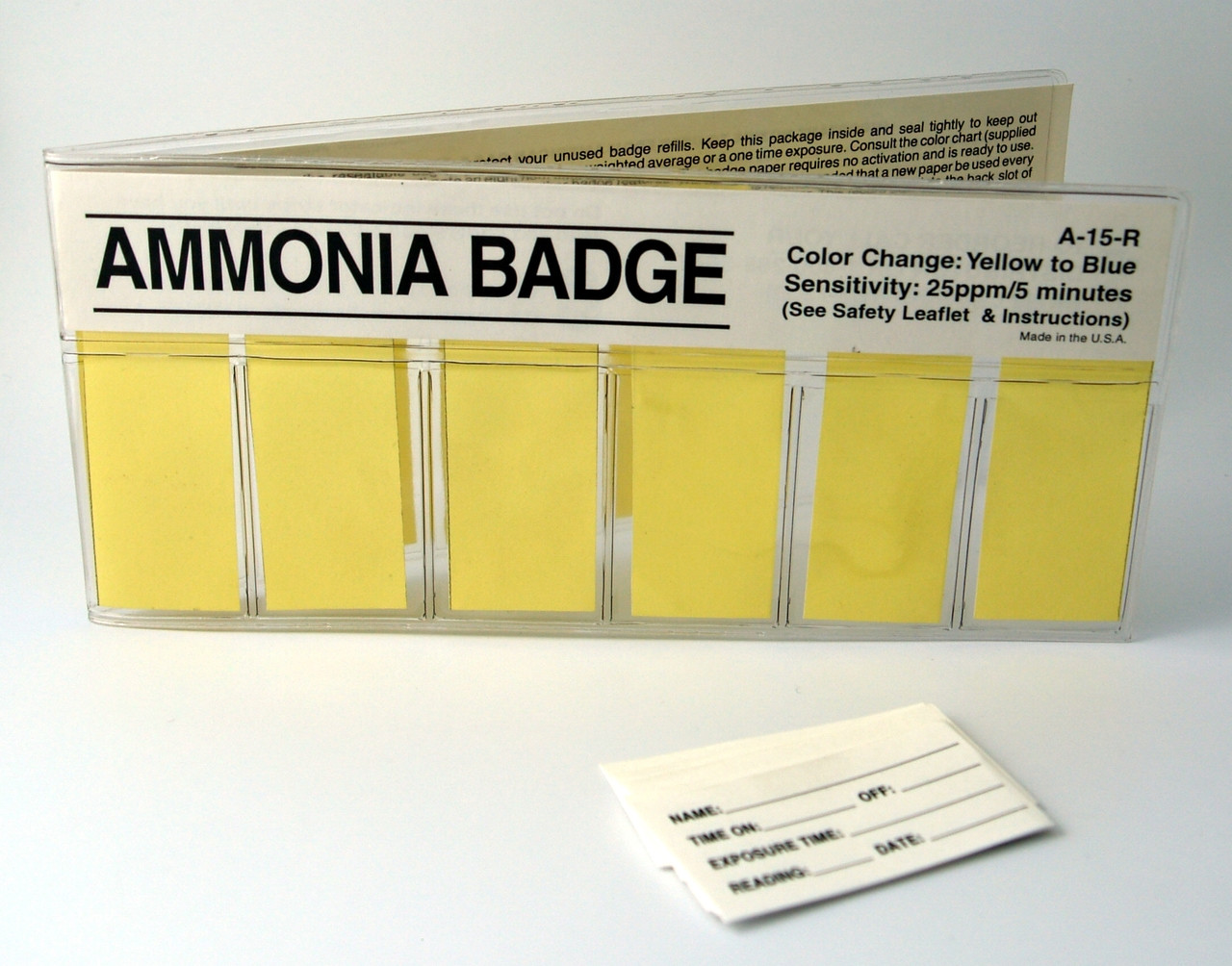 A-15R-10 Ammonia Color Change Refills