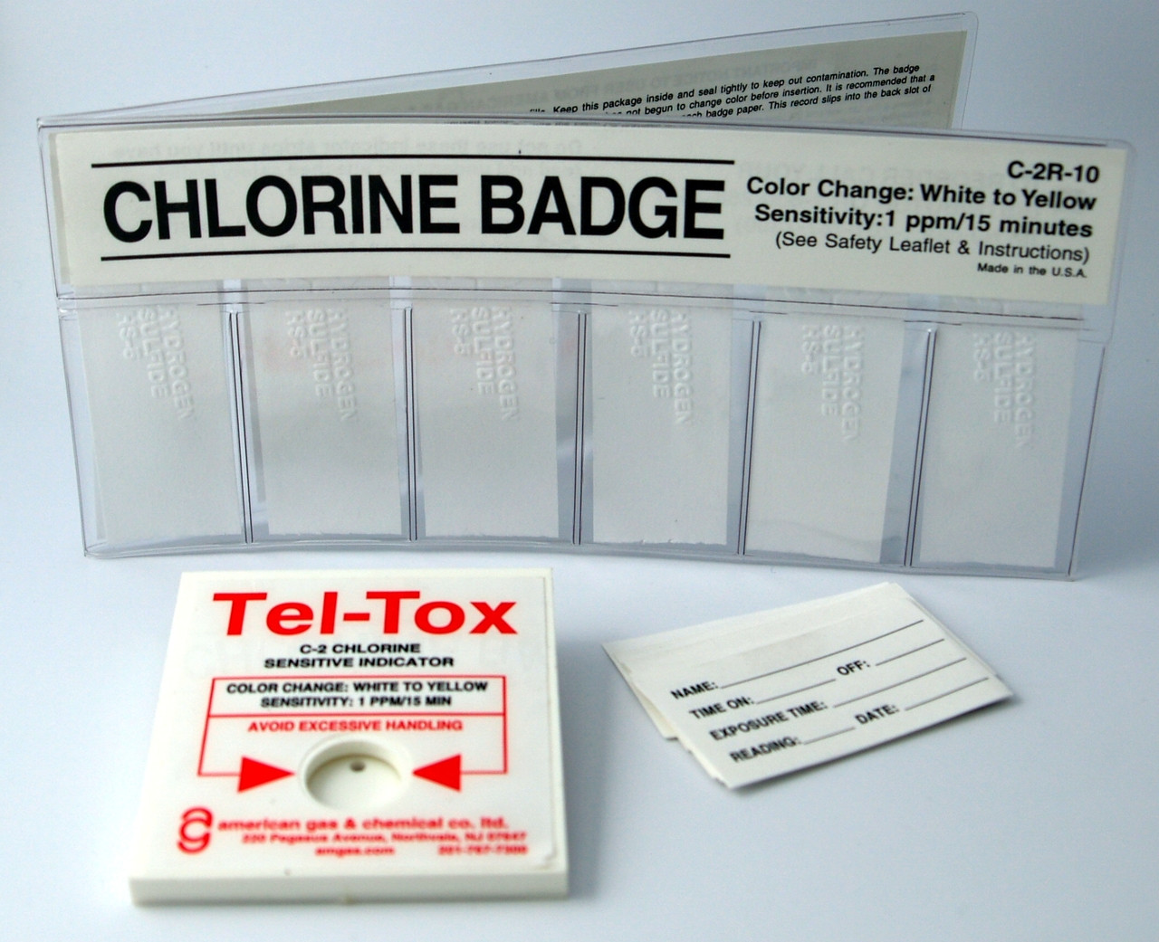 C-2K Chlorine Badge Kit