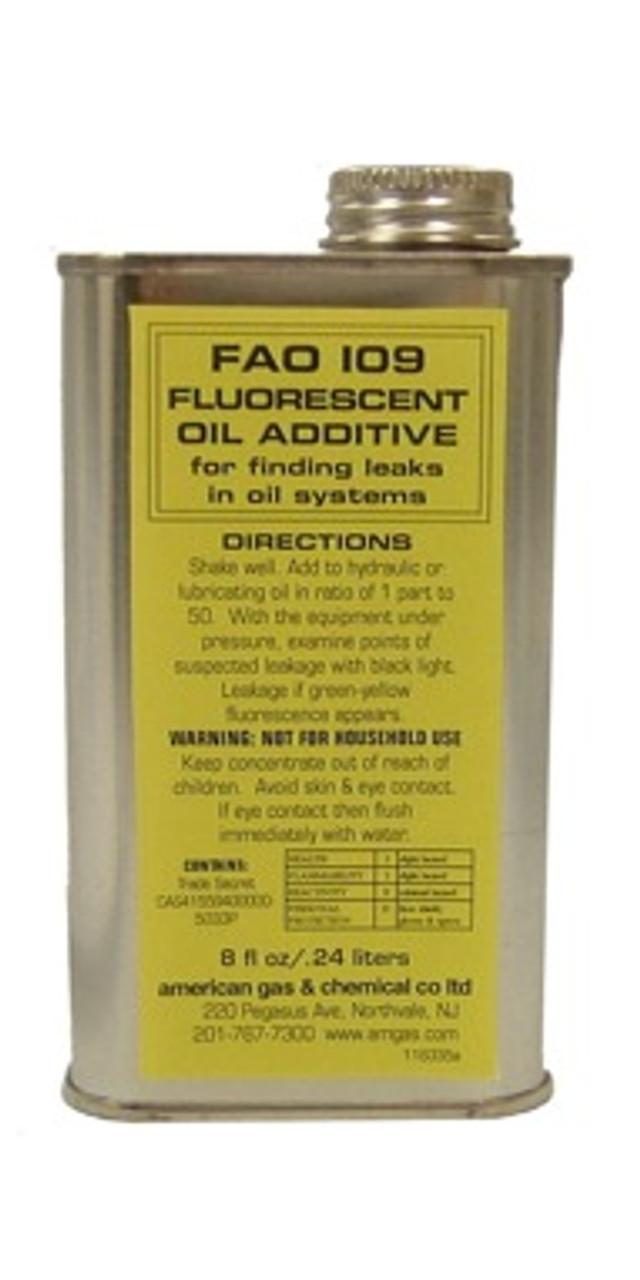 FAO-109-11 Fluorescent Oil Additive (8oz)