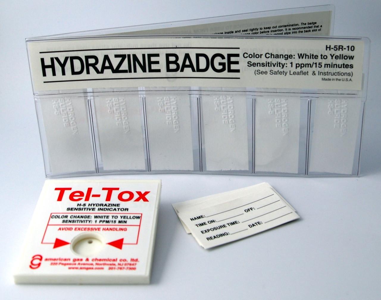 H-5K Hydrazine Color Change Badge Kit