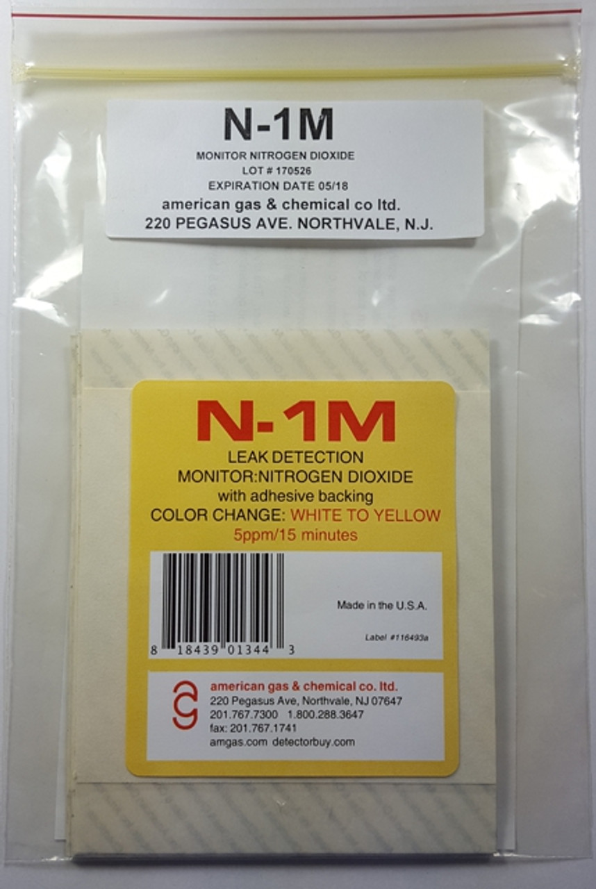 N-1M Nitrogen Dioxide Color Change Area Contamination Monitors