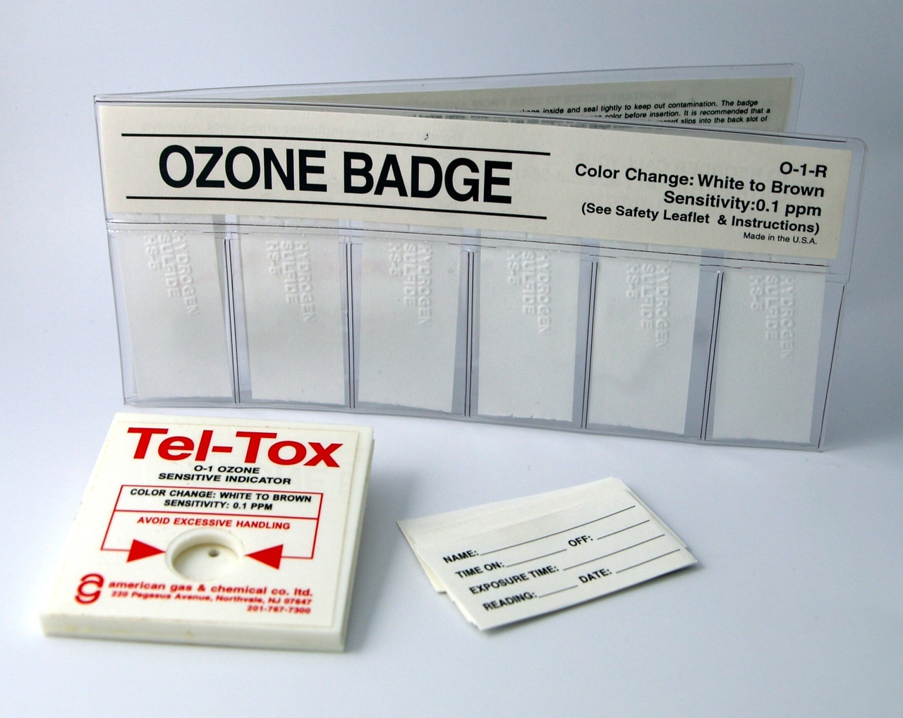 O-1K Ozone Color Change Badge Kit