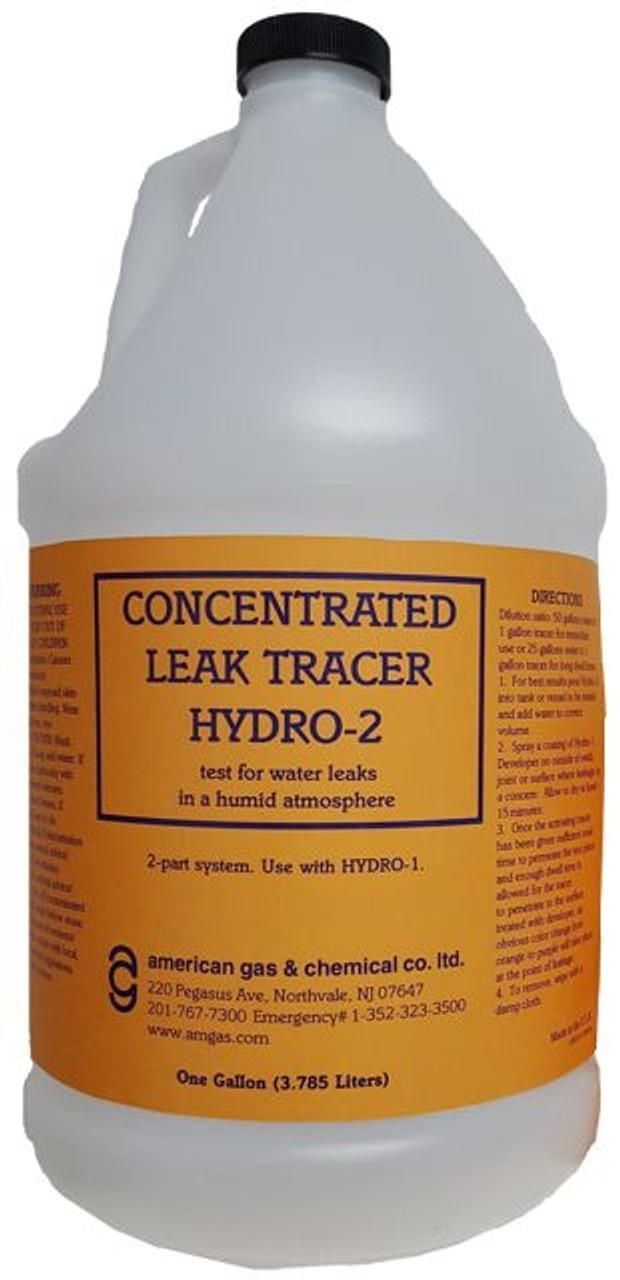 Hydro-2-05 Concentrated Leak Tracer for Cold Water Leaks (One Gallon)