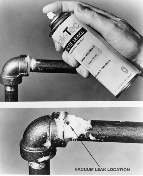 72V-40 Leak-Tec Vacuum & High Pressure Leak Detector (14oz Aerosol)