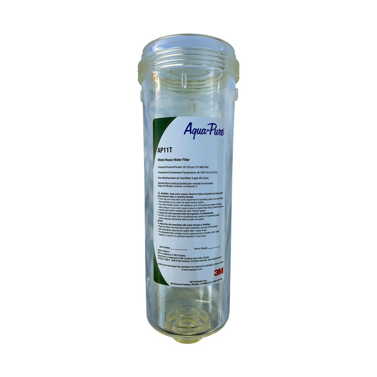 Aqua Pure 6981142P Replacement Clear Sump for AP11T