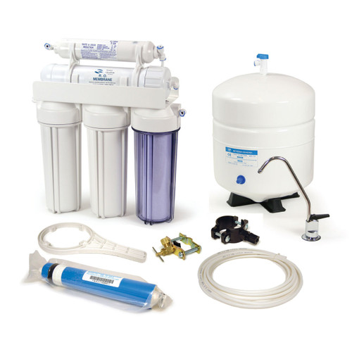Nelsen NRO5-50 5-Stage Reverse Osmosis System 50 GPD