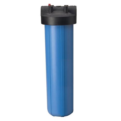 """Pentek 150233 20"""" Big Blue Filter Housing w/Pressure Relief 1"""" Inlet/Outlet"""
