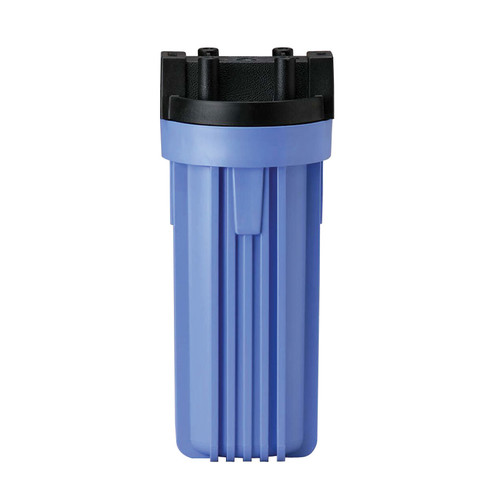 "Pentek 150067 3/4"" #10 Standard Black/Blue w/PR Filter Housing"