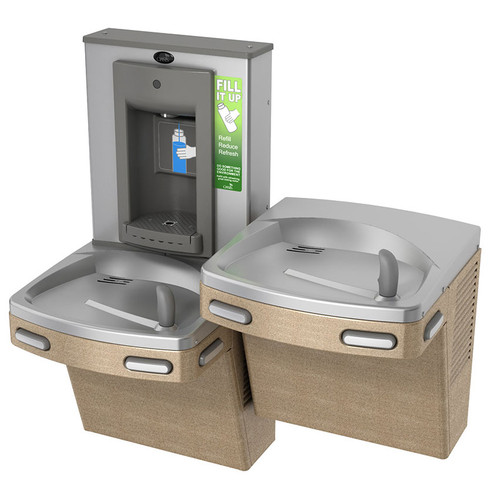 Oasis P8SBFSL Versafiller Split Level Drinking Fountain and Bottle Filler 504440