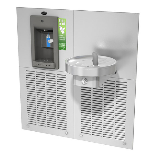 Oasis M8SBF Aqua Pointe Radii Drinking Fountain with Sports Bottle Filler 504590