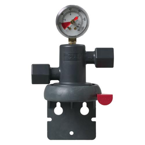 3M Water Filtration NH3-1/2NPT Filter Head w/ Pressure Gauge 6214413