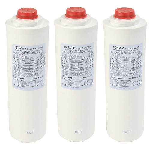 Elkay 51300C_3PK Water Sentry Plus Replacement Water Filters