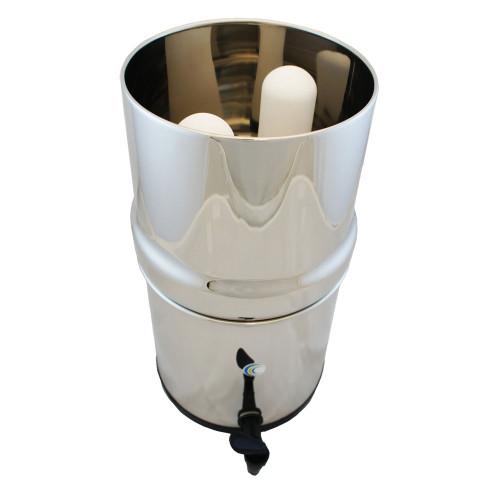 AquaCera Traveler XL Gravity Fed Filter System w/ (2) Chemix Filters W9371250