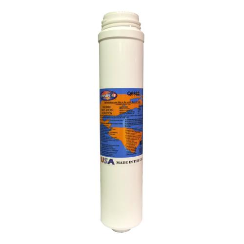 "The Omnipure Q5621 Q Series 12"" 10 mic Carbon Block Filter"