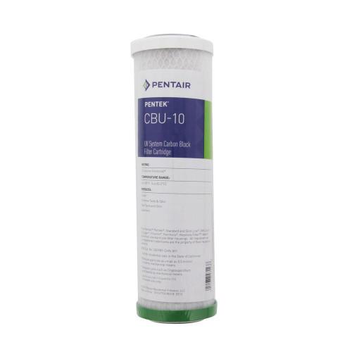 Pentek 155271-43 CBU-10 UV System Carbon Block Filter Cartridge
