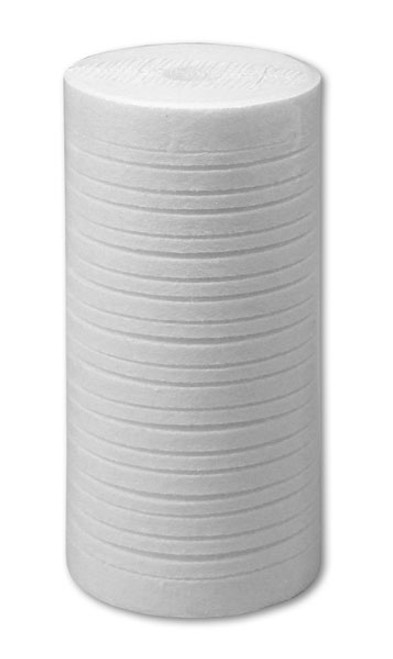 "Klear 4-1/2"" x 9-7/8"" 5 Micron Grooved Melt Blown Polypropylene Sediment Filter GRV-45-1005"