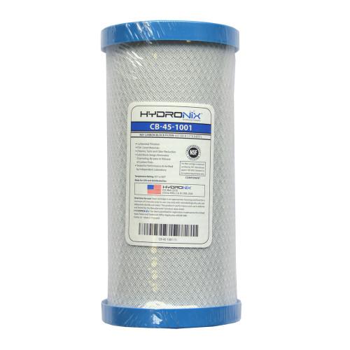 Hydronix CB-45-1001 Carbon Block 1 Micron Filter
