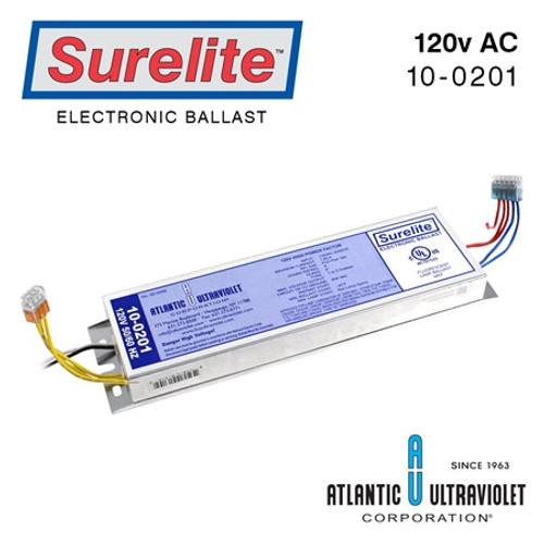 Atlantic UV 10-0201 Replacement Electronic Ballast for Sanitron S2400C 120V