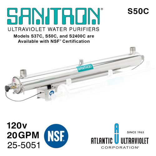 Atlantic UV Sanitron S50C UV Water Purifier 25-5051