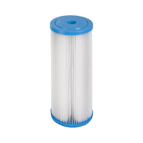 The Hydronix SPC-45-1005 Polyester Pleated Filter 5 Micron