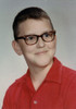 Dean's 1966 (fifth grade) school photo. This was the year he ate ex-lax on a dare and missed two days of school due to ... .  Well, you can read about many of Dean's childhood adventures in Chapter 2 - And Then God Gave Me Dean.