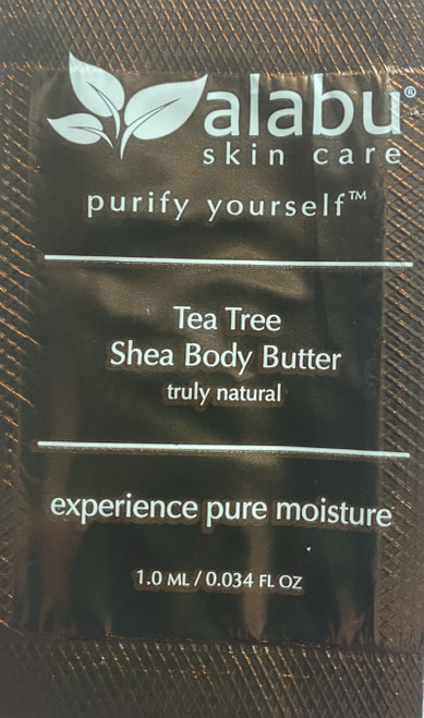 Tea Tree Shea Body Butter Sample/1 ml