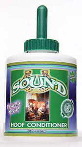 Sound Hoof Conditioner Quart Brush Can