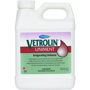 Vetrolin Liniment 32 oz.
