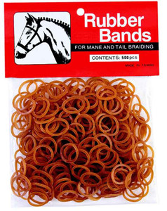 chestnut weaver leather rubber braiding bands 500 count