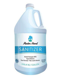 Hand Sanitizer Gallon - 80% Alcohol - FDA/WHO compliant
